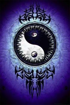 Resultado de imagem para find balance yin yang tattoo