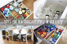 Tipps für den Frühjahrsputz in der Küche, frühjahrsputz, tipss & tricks, spring cleaning, sauber machen, aufräumen, ausmisten, frühling, küche