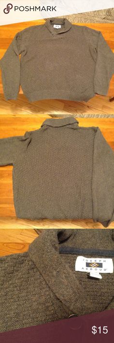 Men's Sweater Joseph Abbboud Brown Sweater, size XL  Excellent condition! Sweaters