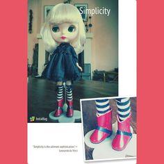 Nuevas botas sin cordones para #blythe #muñeca #dolly #doll #nancyfamosa #madeinspain #dollshoes #leather #muñeca #doll #nancy #bigeyesdoll #boutiquedenancy #nancydefamosa #seventies #dollcollector #famosatoys #lesly #lukas #zapatospepes #pepes #handmade #lasmuñecasdefamosa #instadoll #blythe