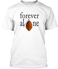 Alone White Kaos Front