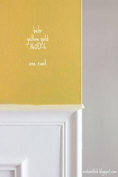 behr yellow gold