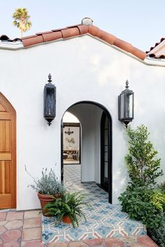 This Jaw-Dropping Spanish Revival Is Our 2018 Dream Home via @MyDomaine