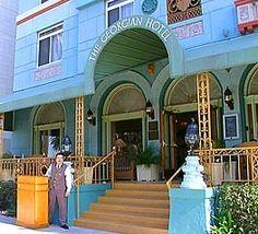 The Georgian Hotel in Santa Monica, California,  is reportedly haunted
