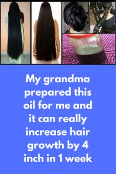 My grandma prepared this oil for me and it can really increase hair growth by 4 inch in 1 week To prepare this oil you will need: coconut oil- 1 cup Mustrad oil – 1 cup garlic cloves – 5 curry leaves – 15-20 almonds – 5 cloves – 15 mehandi powder- 1/2 cup dried amla – 15 Process- Pour both the oils in a wok. Add curry leaves, almonds, cloves, amla, garlic in the …