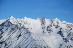 4. Skialprace Ahrntal: Blick auf die Hornspitzen
