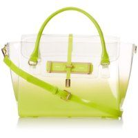Vince Camuto Jelly Satchel,Lime Punch,One Size $148.00 #VinceCamuto