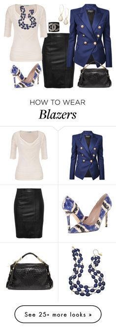 """""""Untitled #2728"""" by emmafazekas on Polyvore featuring maurices, Balmain, Kate Spade, Bebe, Gottex, Kendra Scott and Chanel"""