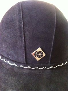 Silver Scalloped Bling Band for your riding helmet