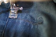 Confetti Avenue by Charlotte Hartwell: Denim Jeans Repair