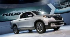 2017 Honda Ridgeline debut at 2016 NAIAS