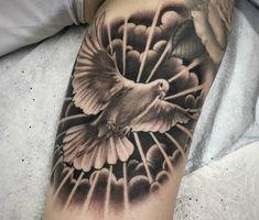 Cloud Tattoo Sleeve, Lion Tattoo Sleeves, Wolf Tattoo Sleeve, Half Sleeve Tattoos For Guys, Hand Tattoos For Guys, Neck Tattoo For Guys, Head Tattoos, Mini Tattoos, Body Art Tattoos