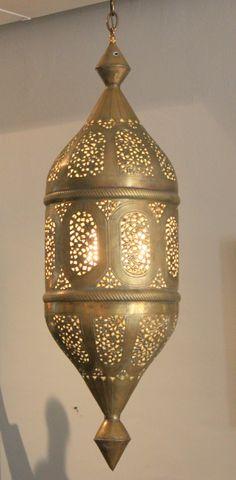 1stdibs.com   Brass Moroccan Lantern JUST LIKE MINE $3800