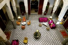 Relais Châteaux na simpática cidade marroquina de Fes.