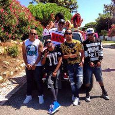 Os Zona 5 e Anselmo Ralph gravam novo videoclipe em Lisboa http://angorussia.com/?p=21885