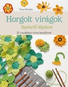 Crochet Flower Patterns Crochet Flowers Step-by-Step: 35 Delightful Blooms for Beginners - Book - Maggie's Crochet - Crochet Puff Flower, Crochet Flower Patterns, Love Crochet, Diy Crochet, Crochet Designs, Crochet Flowers, Crochet Hats, Crochet Ideas, Leaf Patterns