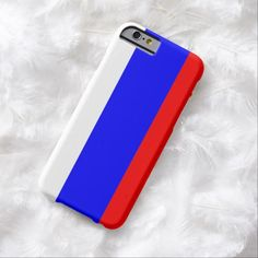 Russia, flag barely there iPhone 6 case