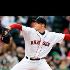 Pitcher Jon Lester 24 yrs old. Cancer survivor for five years now from Lymphoma. Congrats to you Jon:)