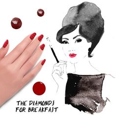 Sephora Glossy / THE TIP-OFF: THE DIAMONDS FOR BREAKFAST MANICURE WITH FORMULA X NAIL LACQUER