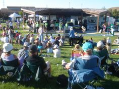 The yearly River Fest is an excellent opportunity for the community to socialize. City planners built a kiosk for concerts in Rotary Park by the Green Way and Portneuf River.