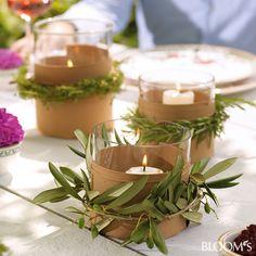 Wunderbar Mediterrane Tischdeko Für Die Gartenparty