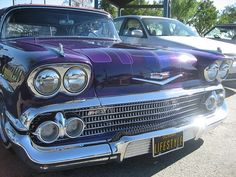 califorania lifestyle lowrider impala 1958