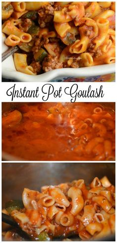 instant pot goulash