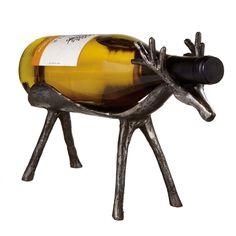 Deer Wine Bottle