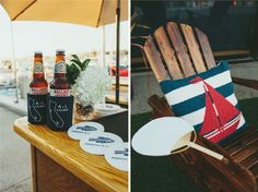 Nautical Wedding Details | Newport Harbor Yacht Club Wedding | Sugar Branch Events | Sargeant Photography