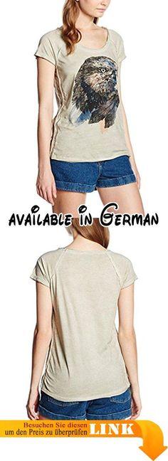 M.O.D Damen T-Shirt SU16-TS189, Gr. X-Large, Beige