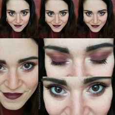 Il trucco scuro di oggi dovrebbe far presagire che non bisogna aspettarsi nulla di buono   Sugli occhi uno smokey con Fondente di Neve Cosmetics sulle labbra Conspiracy dello stesso brand  #FOTD #faceoftheday #makeup