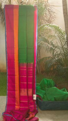 Kanchivaram Kora Silk L02819   Lakshmi