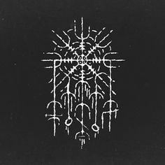 Viking Tattoo Symbol, Norse Tattoo, Viking Tattoos, Inca Tattoo, Viking Art, Viking Runes, Rune Symbols, Mayan Symbols, Egyptian Symbols