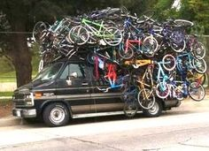Quick Tune Up For Spring Bicycle Riding Monospace, Bicycle Art, Bike Rack, Belle Photo, Transportation, Monster Trucks, Funny Pictures, Crazy Pictures, Jokes