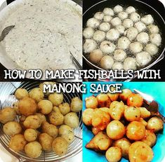 Ingredients: 200 grams of fish filet,mashed (boiled in water with salt and pepper) 1 cup of water from the boiled fish 2 cups of flour 1tsp baking powder 1tsp salt 1/2 tsp of pepper 3 cloves of garlic,minced 3 tbsp of minced onion 3 tbsp of minced red bell pepper 3 tbsp of minced scallion/onion… Continue reading How to make Fishball with Manong Sauce