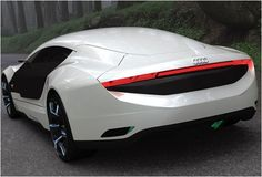 Audi A9 Concept 3 repairs as soon as it gets hurt.. creates a color illusion as per the driver ! wow !
