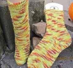 Stricken, Socken