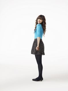 Zooey Deschanel as Jess in NEW GIRL on FOX.