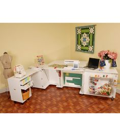 Kangaroo Kabinet Aussie Sewing Cabinet-White - Get inspired, build your own!