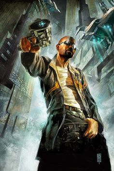 Stories and Other Such Distractions: Cyberpunk 2020 Cyberpunk 2020, Cyberpunk Kunst, Character Design Cartoon, Character Art, Blade Runner, Le Shield, Image Digital, Dystopian Future, Digital Art Gallery