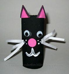 Toilet paper cat! #GirlguidingCymru