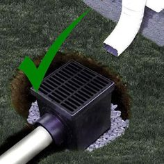 Over the years we've worked with hundreds if not thousands of home owners and contractors about proper French drain installation and what type of fabric material is best to use. Many of the calls are from frustrated folks needing to replace failed drainage systems. we've gathered together a list of the most commonFren Yard Drainage System, Backyard Drainage, Landscape Drainage, Drainage Solutions, Drainage Ideas, Outdoor Projects, Outdoor Ideas, Outdoor Spaces, Outdoor Living