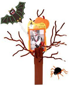 Nicole™ Crafts Halloween Tree Clothespin #halloween #craft