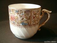 sorszámozott, antik, mutatós csésze