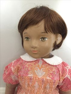Nini Doll 'Garden Party' hand-made doll by Jonathan Hayes www.ninidoll.com