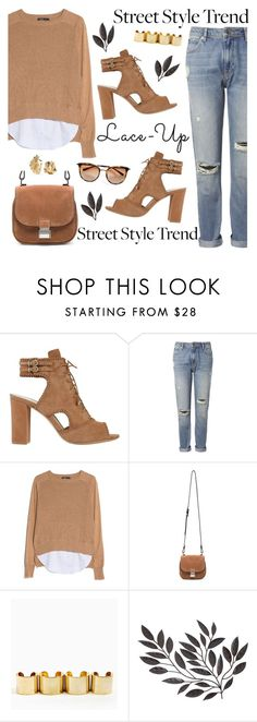 """""""laced"""" by bellablondie ❤ liked on Polyvore featuring Alexandre Birman, Whistles, MANGO, Proenza Schouler and Annelise Michelson"""