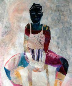 """Saatchi Art Artist Jacqueline van der Plaat; Painting, """"Transformation"""" #art"""