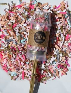 Confetti Poppers are great ways to add a little excitement to any surprise party, wedding or celebration.