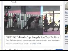 GRAPHIC,corrupt Cops Savagely Beat Teen 4 Recording Police, Caught in Ma...