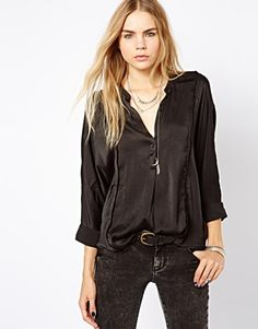 Zadig and Voltaire Blouse with Raw Edge
